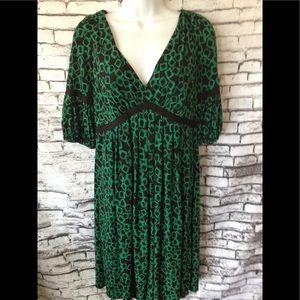 Suzi Chin Maggy Boutique Dress Geometric